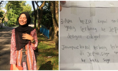 Standard 4 Boy's Cute Love Letter to Teacher Amuses Netizens With His Pantun And Riddles - WORLD OF BUZZ