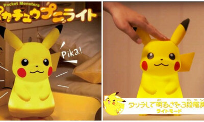 M'sians Can Now Get Their Hands On This Cute Dancing and Talking Pikachu Lamp! - WORLD OF BUZZ