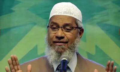 Report Claims Malaysian Home Ministry is Reviewing Zakir Naik's PR Status - WORLD OF BUZZ