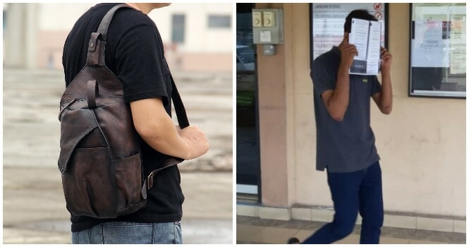 Perak Teen Loses His Sling Back & Makes False Police Report Because Scared of Mum's Scolding, Gets Fined Rm 1,500 - WORLD OF BUZZ