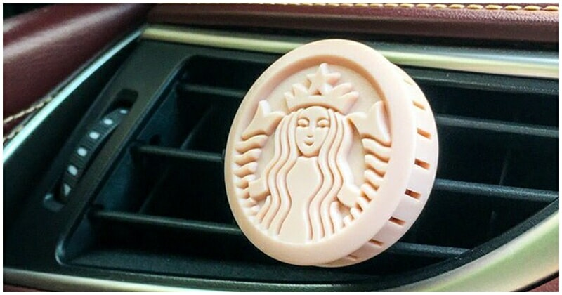 Starbucks Now Has Air Fresheners That Will Leave Your Car Smelling Like Green Tea - WORLD OF BUZZ 1