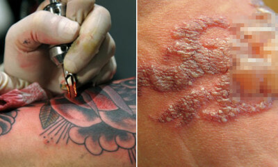Study: Bright Coloured Tattoos May Leak Heavy Metals Into Your Body Causing Allergic Reactions - WORLD OF BUZZ