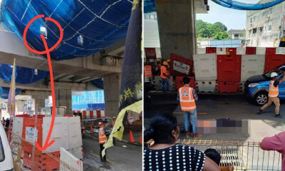 Supervisor Tragically Plummets 10m to His Death at MRT Construction Site - WORLD OF BUZZ 3