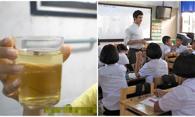 Thai Teacher Makes 30 Students Drink His Pee, Claims Its Holy Water From Temple - WORLD OF BUZZ 5