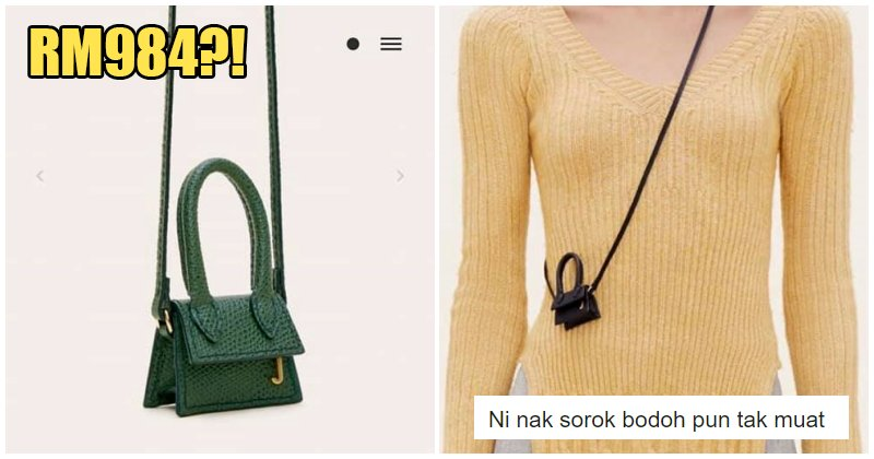This Hand Bag That's Smaller Than The Palm Of Your Hand Is Selling For RM 984 - WORLD OF BUZZ 7
