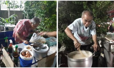 Update: Netizens Become Suspicious After 78-Year-Old Porridge Uncle Closes Donations - WORLD OF BUZZ