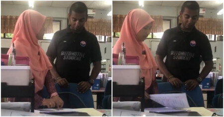Watch: Malay Teacher & Indian Student Converses in Mandarin, Shows Beauty of M'sia - WORLD OF BUZZ