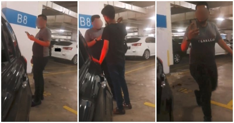 Watch: Parking 'Chup' Culture Lives Strong Despite Law Against It, As New Incident Surfaces In Penang - WORLD OF BUZZ