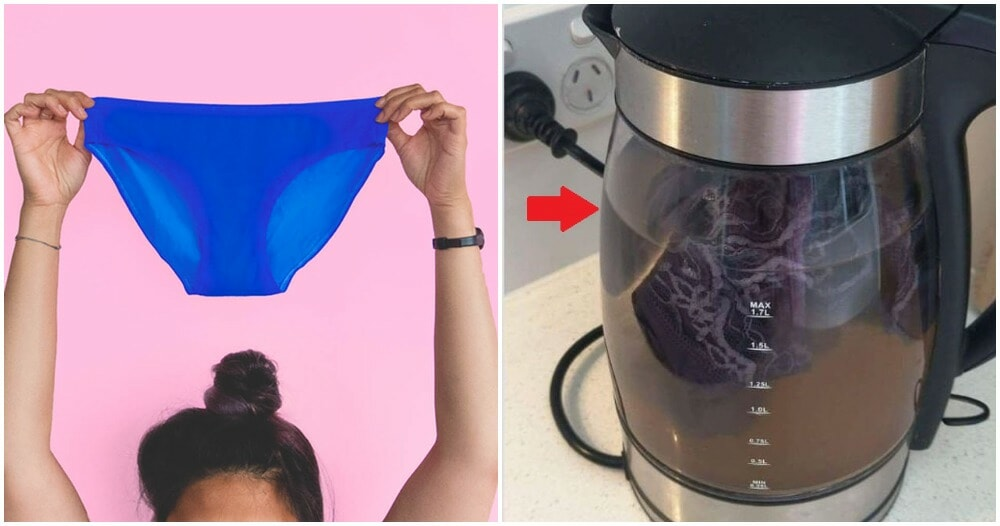 Woman Used Hotel Kettle to Wash Period-Stained Underwear, Claims It's Hygienic & Quick - WORLD OF BUZZ