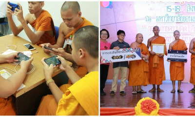 Young Apprentice Monks Went Viral For Being Crowned In A Competition As An Esports Champion - World Of Buzz