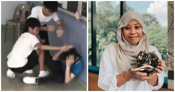 Young Malaysian Woman Receives Prize At Prestigious Cannes Gold Lion Award For Anti-Bullying Video - WORLD OF BUZZ