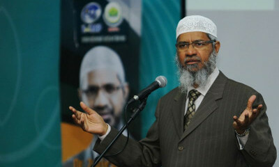 Zakir Naik Barred From Every States In Malaysia, Apologises For Causing Racial Discord Among Citizens - WORLD OF BUZZ