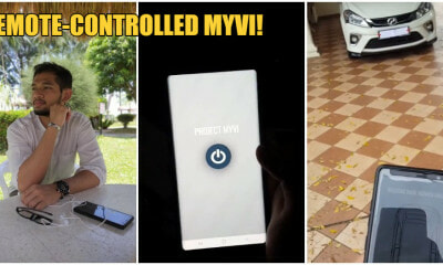 "21yo M'sian Man Transforms A MyVi Into ""Somewhat"" Of A Tesla With Less Than RM200! - WORLD OF BUZZ 7"