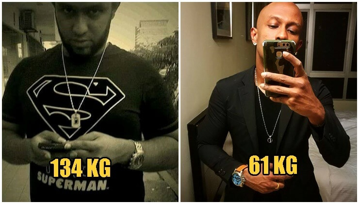 33-Year-Old M'sian Man Shares How He Went From 174Kg To 59Kg In Just Six Months! - WORLD OF BUZZ 7