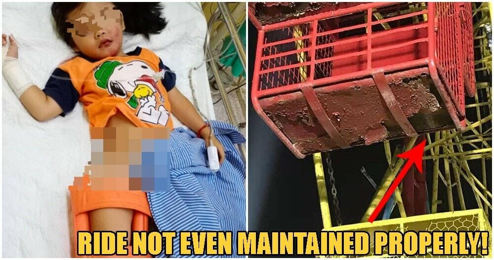 4yo M'sian Girl Falls TWO STOREY-HIGH Ferris Wheel In Perak Because Brakes Didn't Work - WORLD OF BUZZ 1