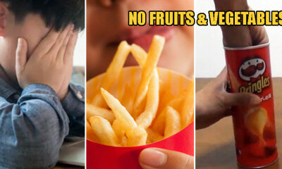 19yo Boy Goes Blind After Refusing to Eat Vege & Fruits for 10 Years, Eats Pringles Instead - WORLD OF BUZZ