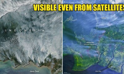 Haze Conditions Reaches Alarming Levels as It Can Even Be Seen From Outer Space! - WORLD OF BUZZ