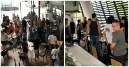 Watch: Malaysians Proudly Stand & Sing Along As National Anthem Played Through Cafe Speakers - WORLD OF BUZZ