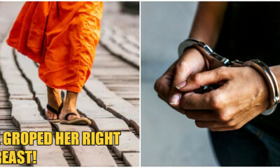 A Monk Groped A Woman's Breast After Drinking Beer & Ends Up In Jail - WORLD OF BUZZ