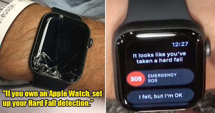 Man Shares How an Apple Watch Brought His Dad to the Hospital When He Had a Bad Fall - WORLD OF BUZZ