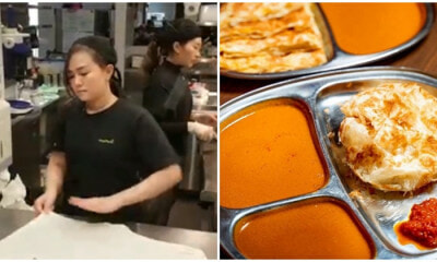 Aussie Girl May Make Better Roti Canai Than Your Local Mamak, Netizens Agree - WORLD OF BUZZ