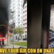 Beware! This 24yo Woman Left Her Aircon On In The Room And It Burned Down Her Entire Four Bedroom Apartment! - WORLD OF BUZZ