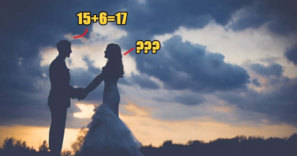 """Bride Leaves Her Own Wedding Ceremony After Groom Says """"15+6=17"""" - WORLD OF BUZZ 5"""