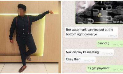 Designer Warns M'sians After He's Scammed By Conman Who Stole His Designs And Sold It to Other People - WORLD OF BUZZ