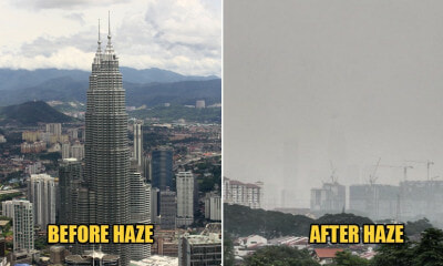 KL Haze Worsens As KLCC Towers Can't Be Seen AT ALL Now - WORLD OF BUZZ