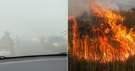 Sarawak's Air Is At Unhealthy Levels Due To Pollution From Kalimantan Forest Fires - WORLD OF BUZZ