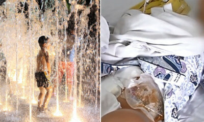7yo Boy Was Playing at Fountain When Water Shot Up His Anus & Injured His Intestines - WORLD OF BUZZ