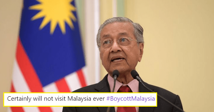 International Netizens Are Calling To Boycott Tourism Malaysia After Tun M Said Kashmir Was Invaded By India - WORLD OF BUZZ