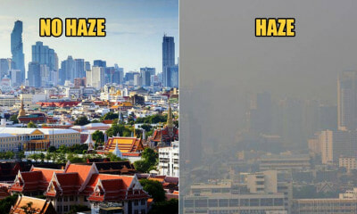 14 Places In Bangkok Get Hit By Haze As Air Quality Becomes Unhealthy, Public Advised To Use Masks - WORLD OF BUZZ