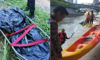 Man Drowns To Death After Jumping Into Klang River Near Pasar Seni LRT Station - WORLD OF BUZZ