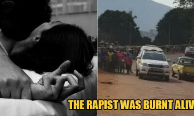 Angry Villagers Burn Accused Rapist To Death For Raping 17yo OKU Girl - WORLD OF BUZZ