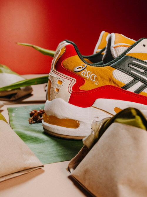 Get Yourself A Pair Of Nasi Lemak Inspired Sneakers From ASICS - WORLD OF BUZZ 1
