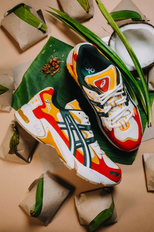 Get Yourself A Pair Of Nasi Lemak Inspired Sneakers From ASICS - WORLD OF BUZZ 2