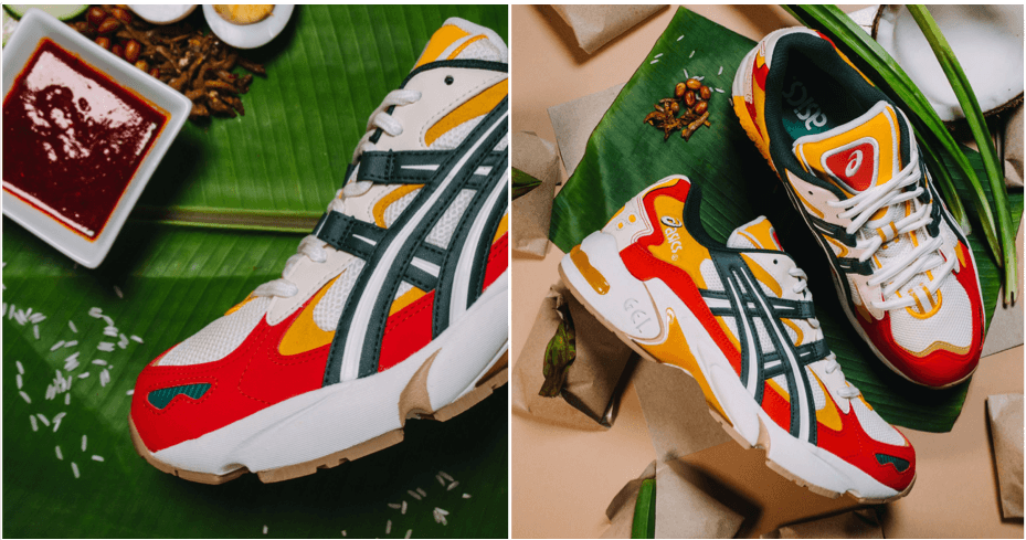 Get Yourself A Pair Of Nasi Lemak Inspired Sneakers From ASICS - WORLD OF BUZZ 4