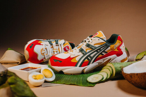Get Yourself A Pair Of Nasi Lemak Inspired Sneakers From ASICS - WORLD OF BUZZ
