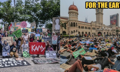 Global Climate Strike: 300 People Rallied from SOGO to Dataran Merdeka - WORLD OF BUZZ