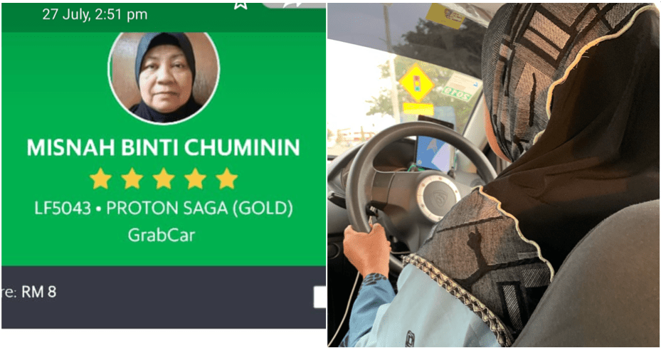 Having OKU Son And A Husband With Cancer, 60yo Lady Becomes A Grab Driver To Support Them - WORLD OF BUZZ 3
