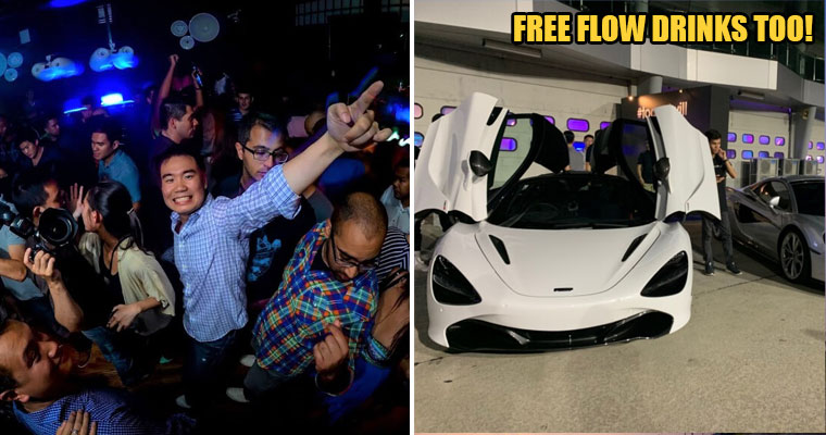 Hot Air Balloon Lifts, McLaren Car Rides and More: This is The Sickest Party Malaysia Has Ever Seen - WORLD OF BUZZ