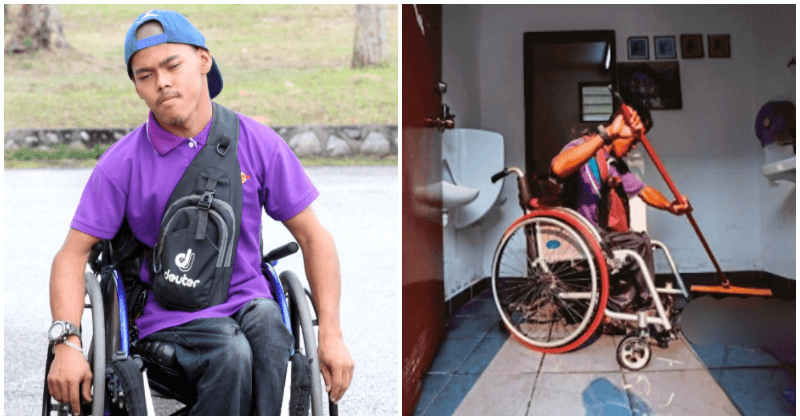 """If My Pockets Are Empty, I'll Just Drink Water,"" M'sian OKU Man Is The Breadwinner Of His Family - WORLD OF BUZZ 3"