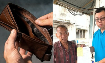 Kind Chicken Rice Uncle Wanted to Donate RM5 But Gets Scammed RM1,200 Instead - WORLD OF BUZZ 1