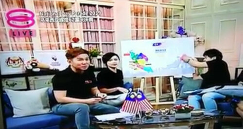 Local TV Station Wrongly Labelled Sabah And Sarawak On The Map - WORLD OF BUZZ 1