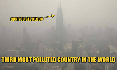 Malaysia Ranks Top 3 Most Polluted Nations in the WORLD Due to Worsening Haze Conditions - WORLD OF BUZZ 1