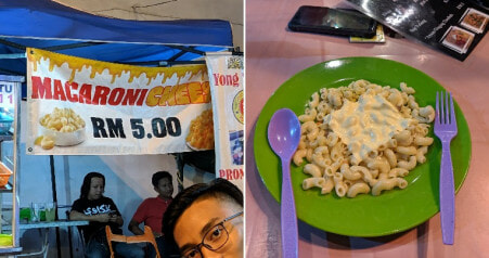 Malaysian Man Orders RM5 Mac & Cheese From Stall, Gets Served Plate of Sadness - WORLD OF BUZZ 1