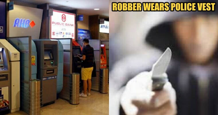Malaysian Robbers Dressed Like Police to Rob 39-year-old Man at Knifepoint - WORLD OF BUZZ