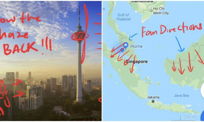 "Man Asks All M'sians To ""Blow Back The Haze"" To Indonesia On 16 September & We Don't Know What To Think - WORLD OF BUZZ 6"
