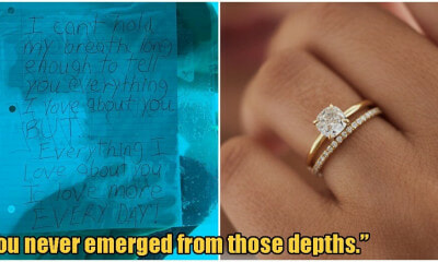 Man Proposes To His Gf Underwater, She Says Yes But He Drowns Before He Makes It Out - World Of Buzz